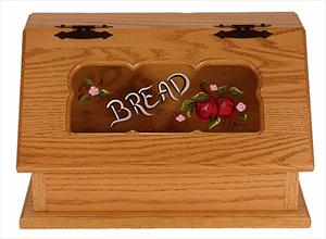 Amish Bread Box Painted-Delivery included.
