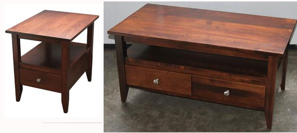 The size of this wonderful amish furniture handmade modern for Coffee tables 36 wide