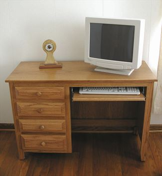 Amish Youth Hardwood Desk