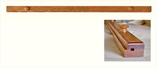 Amish Quilt Clamp Available in Five Different Lengths Oak Hardwood