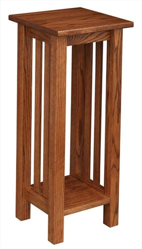 Amish Mission Plant Stand 18 inches high x 12 inches wide