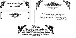 Hope chest personalization choices Love Never Fails Memorials