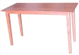 Sofa Table Shaker Oak Amish