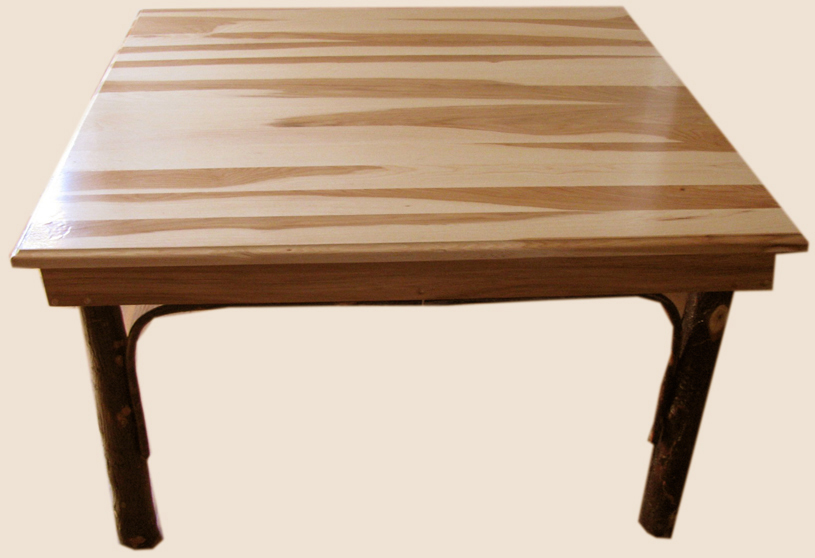 Amish Furniture Hickory Dining Room Table ...