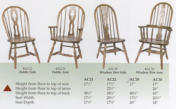 Brilliant Amish Side And Arm Chairs Windsor Oak Fiddle Back Inzonedesignstudio Interior Chair Design Inzonedesignstudiocom