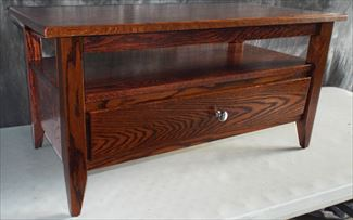 Modern Coffee Table Amish Oak or Cherry Table & Hardwoods