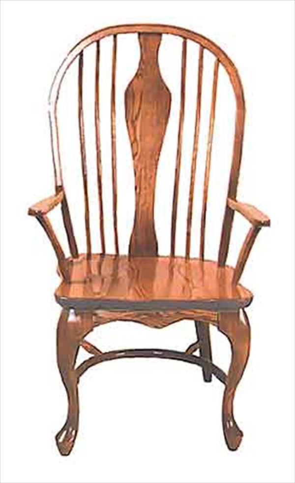 Amish Chair Amish Arm Chair Belmont Queen Anne Leg