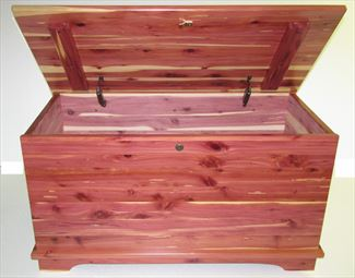 Blanket Cedar Chest Amish Blanket Box Cedar Chest Jumbo Deluxe  Safety Hingeso