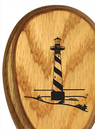 Amish Classic Lighthouse Stained Oak Marble Towel Holder Solid Stained Hardwood Exclusive Design19