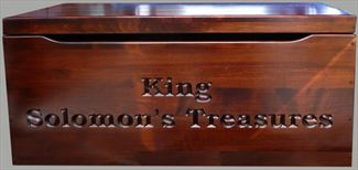 Amish Chest Personalized  Toy Chest Brown Maple Deluxe Two Safety Hinges