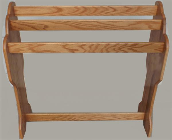 Amish Waterfall Quilt Rack Oak Or Curly Hard Maple (with A