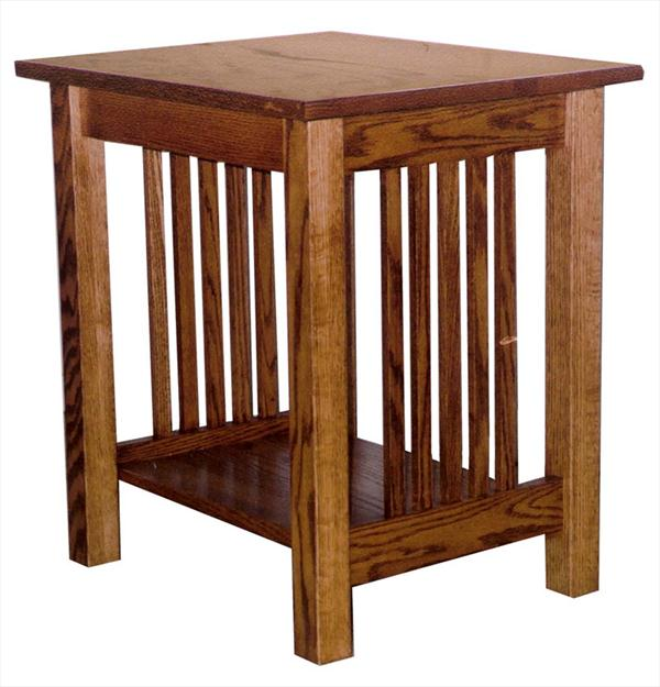 Amish Prairie Mission Small End Table 23 inches high x 22 inches width