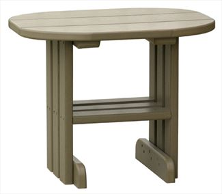 Poly End Table Ohio Amish OUTDOOR Classic