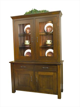 Amish Hardwood Hutch and Buffett with options