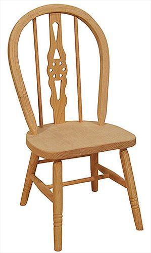 Amish Childs WINDSOR Oak Hardwood Amish Chair