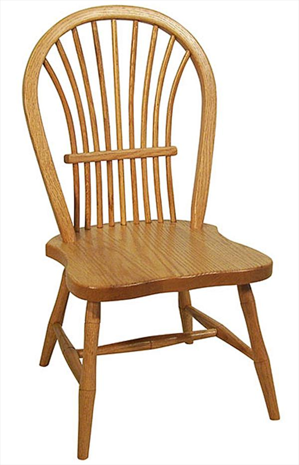 this amish oak child s bow sheaf side chair is a fine example of rh artsinheaven com