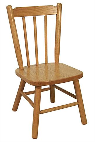 Amish Childs Two Post Oak Hardwood Amish Chair