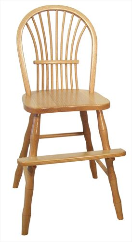 Amish Kid Furniture Youth Chair BOW SHEAF Oak