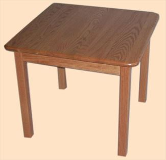 Amish Child Furniture Oak Table Square or Rectangle