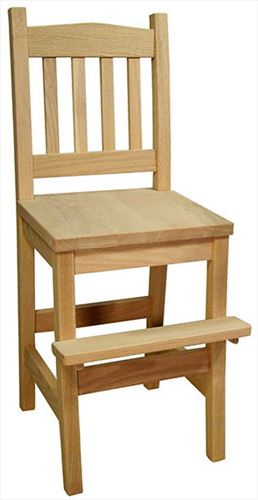 Amish Childs Furniture Mission Oak Youth Chair