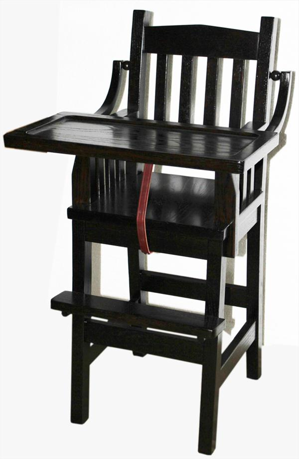 Baby Furniture-High Chair-wood-Amish-Mission!