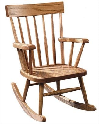 Phenomenal Amish Rocking Chairs For Children Amish Kids Rocking Chairs Gmtry Best Dining Table And Chair Ideas Images Gmtryco
