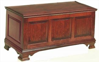 Hope Chest Amish Chest, Large, Tall, Cherry or Cedar Or Oak or QSWO wood