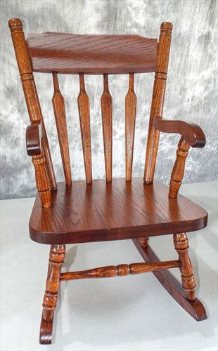 Amish Childs ACORN Oak Hardwood Amish Chair