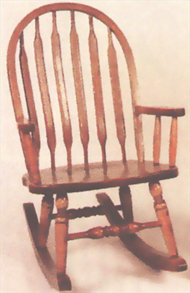 Amish Rocking Chairs Amish Oak Paddle Back Rocker